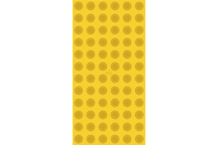 300 x 600 Yellow Tactile Pad
